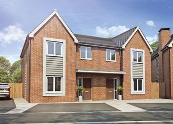 Thumbnail 4 bed semi-detached house for sale in Hemlock Road, Coalville