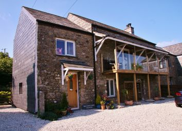 Thumbnail 5 bed barn conversion for sale in Trecarne, Liskeard