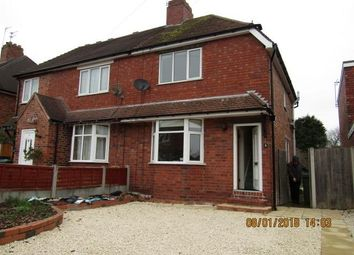 Thumbnail 2 bed semi-detached house to rent in Homefield Road, Codsall, Wolverhampton