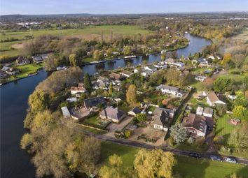 Thumbnail 4 bed bungalow for sale in Towpath, Shepperton, Surrey