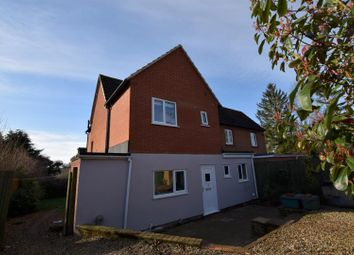 Thumbnail 3 bedroom semi-detached house for sale in Water Lane, Little Plumstead, Norwich