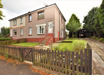 Thumbnail 2 bed flat for sale in Bellshill Road, Motherwell