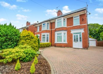 Thumbnail 3 bed semi-detached house for sale in Llantarnam Road, Llantarnam, Cwmbran