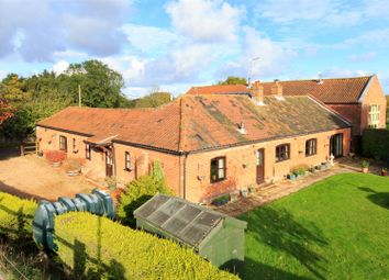Thumbnail 4 bedroom barn conversion for sale in Lyngate Road, North Walsham