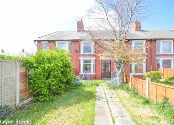 Thumbnail 2 bedroom terraced house for sale in Cromwell Road, Blackpool
