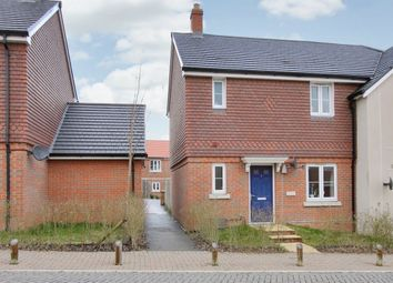 Thumbnail 3 bedroom semi-detached house to rent in Quicksilver Crescent, Andover Down, Andover