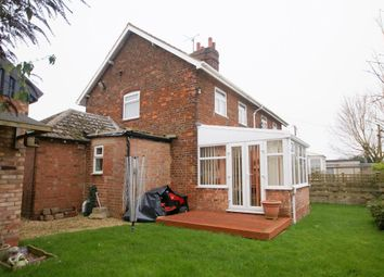 Thumbnail 3 bed semi-detached house for sale in Common Road, Moulton Seas End, Spalding
