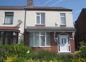 Thumbnail 3 bed semi-detached house to rent in Singleton Avenue, Crewe