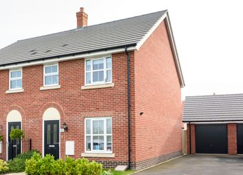 Thumbnail 3 bed semi-detached house for sale in Brooke Way, Stowmarket