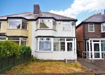 Thumbnail 3 bed semi-detached house for sale in Woolmore Road, Birmingham