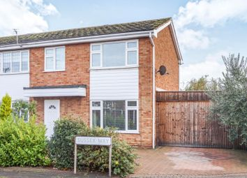 Thumbnail 3 bed semi-detached house for sale in Sussex Way, Canvey Island