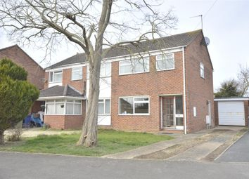 Thumbnail 3 bed semi-detached house for sale in Long Eights, Northway, Tewkesbury, Gloucestershire