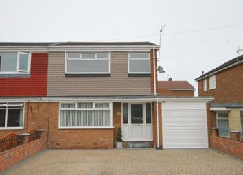 Thumbnail 3 bed semi-detached house for sale in Flexbury Gardens, South West Denton, Newcastle Upon Tyne