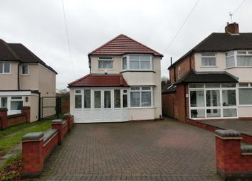 Thumbnail 3 bed detached house for sale in Stroud Road, Shirley, Solihull