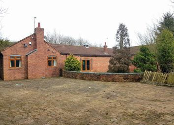 Thumbnail 3 bed bungalow for sale in Micklehead Farm Bungalow, Micklehead Green, Sutton Manor, Cheshire