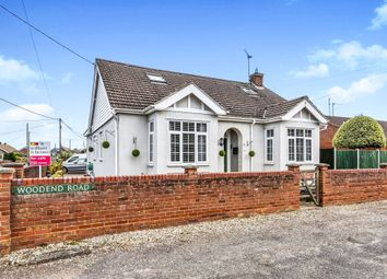 Thumbnail 4 bed detached house for sale in Woodend Road, Heacham, King's Lynn