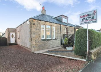 Thumbnail 3 bed semi-detached bungalow for sale in St. Johns Road, Broxburn