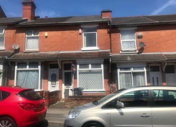 Thumbnail 3 bed terraced house to rent in Evelyn Road, Sparkhill, 3 Bedroom Terrace