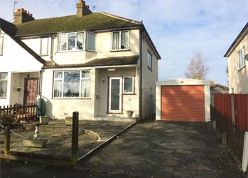 Thumbnail 3 bed end terrace house for sale in Chessington Close, West Ewell, Epsom