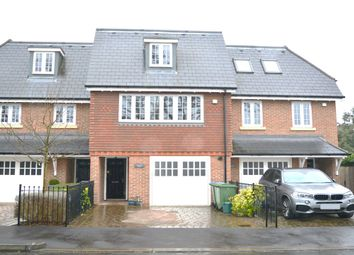 Thumbnail 4 bed town house for sale in Queens Drive, Thames Ditton