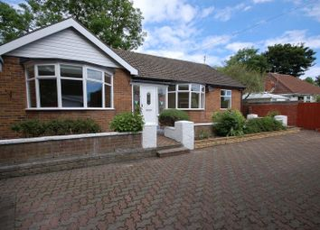 Thumbnail 4 bedroom detached bungalow for sale in Croft Avenue, Forest Hall, Newcastle Upon Tyne