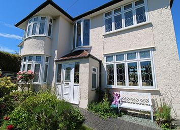 Thumbnail 3 bed detached house for sale in West Cross Lane, Swansea