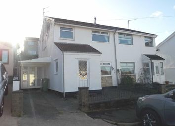 Thumbnail Semi-detached house to rent in Brookside Close, Cilfynydd, Pontypridd