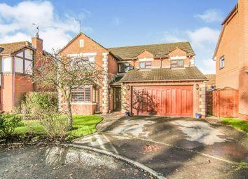 Thumbnail 4 bed detached house for sale in Blackdown Close, Little Sutton, Ellesmere Port