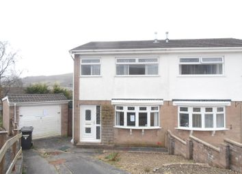Thumbnail 3 bed semi-detached house for sale in Larkfield Avenue, Aberdare