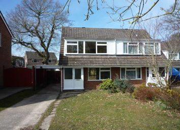 Thumbnail 3 bed semi-detached house to rent in Provene Close, Waltham Chase, Southampton