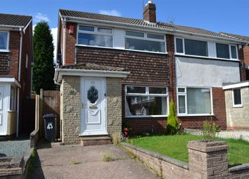 Thumbnail 3 bed semi-detached house to rent in Heydon Road, Brierley Hill