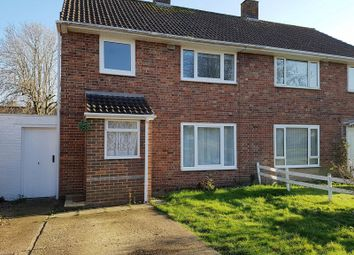 Thumbnail 3 bed semi-detached house to rent in Buckmans Road, Crawley