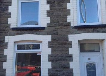 Thumbnail 3 bed terraced house to rent in Conway Road, Cwmparc, Treorchy
