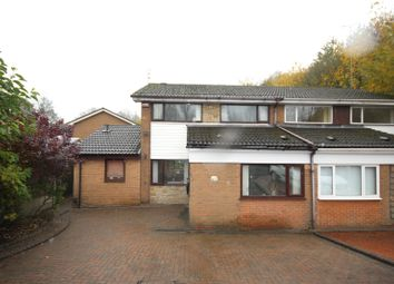 Thumbnail 4 bed semi-detached house for sale in Dean Court, Queensway, Rochdale, Greater Manchester