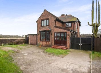 Thumbnail 3 bed detached house for sale in Shuttington Road, Alvecote, Tamworth