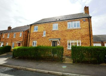 Thumbnail 4 bed detached house for sale in Howards Way, Moulton Park, Northampton