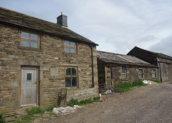 Thumbnail 4 bed barn conversion for sale in Far Woodseats Lane, Chisworth