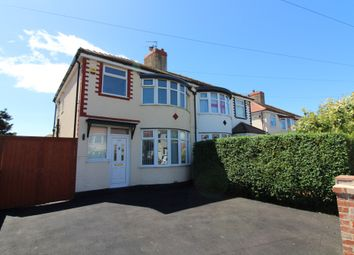 Thumbnail 3 bed semi-detached house to rent in Lauderdale Avenue, Cleveleys