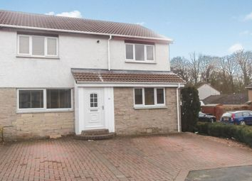 Thumbnail 4 bed semi-detached house to rent in Acredales, Linlithgow