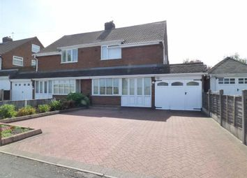 Thumbnail 3 bed semi-detached house for sale in Linthouse Lane, Wednesfield, Wolverhampton