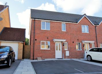 Thumbnail 3 bed end terrace house for sale in Wood Green, Cefn Glas