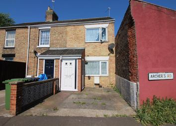 Thumbnail 2 bedroom terraced house for sale in Archers Road, Great Yarmouth
