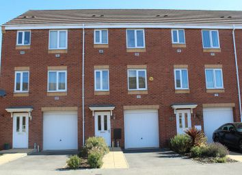 Thumbnail 4 bed town house to rent in Balata Way, Stretton, Burton-On-Trent