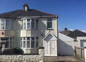 Thumbnail 3 bedroom semi-detached house for sale in Ayreville Road, Beacon Park, Plymouth