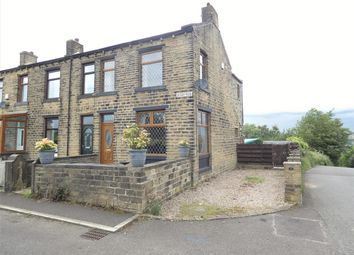 Thumbnail 3 bed end terrace house for sale in Quarry Road, Crosland Hill, Huddersfield