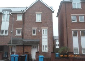 Thumbnail 3 bed town house to rent in Mackworth Street, Manchester