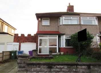 Thumbnail 3 bed semi-detached house for sale in Woolton Road, Wavertree, Liverpool