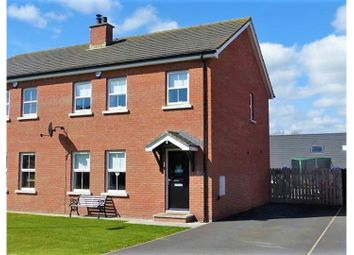 Thumbnail 3 bed semi-detached house for sale in Rocksfield Way, Downpatrick