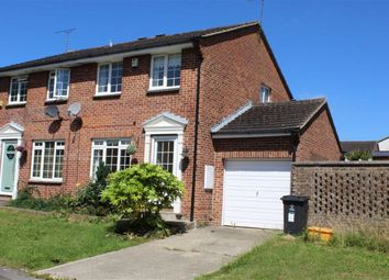 Thumbnail End terrace house to rent in Grantham Close, Freshbrook, Swindon