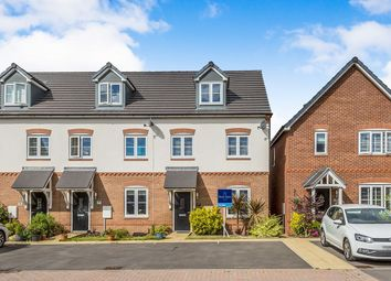 Thumbnail 3 bed terraced house for sale in Severn Way, Holmes Chapel, Cheshire